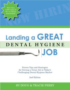 Landing a Great Dental Hygiene Job 2nd Edition Cover